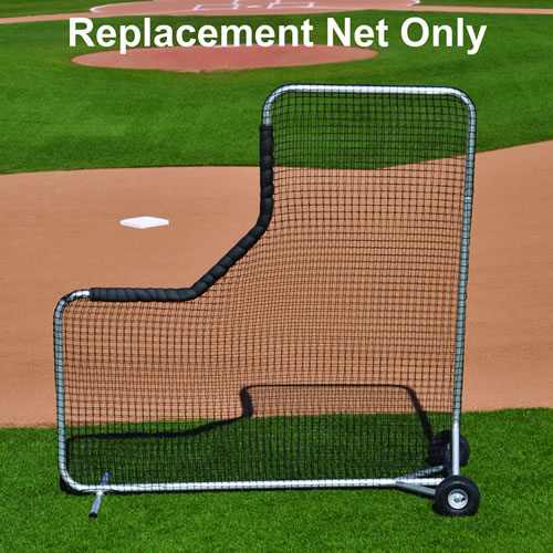 BLPS-84N Big Leage Pitcher's Safety Protector L-Screen Replacement Net