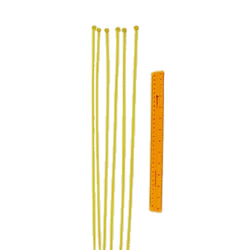 Fence Top Protection Ties (Yellow)