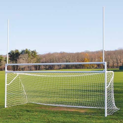 Deluxe Official Soccer/Football Goal – w/ European Backstays