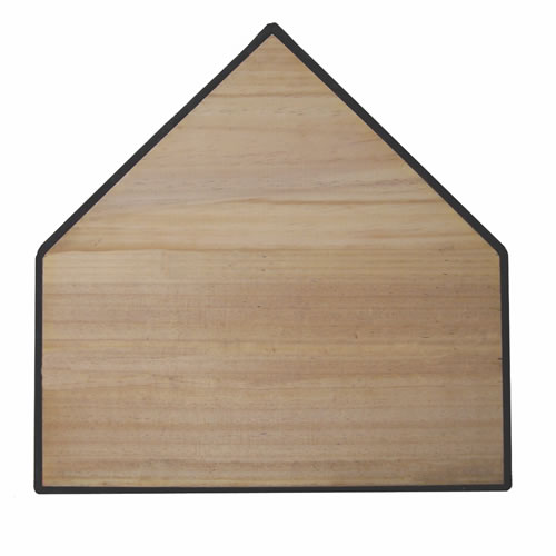HP-150 Bury All Home Plate Wood Filled