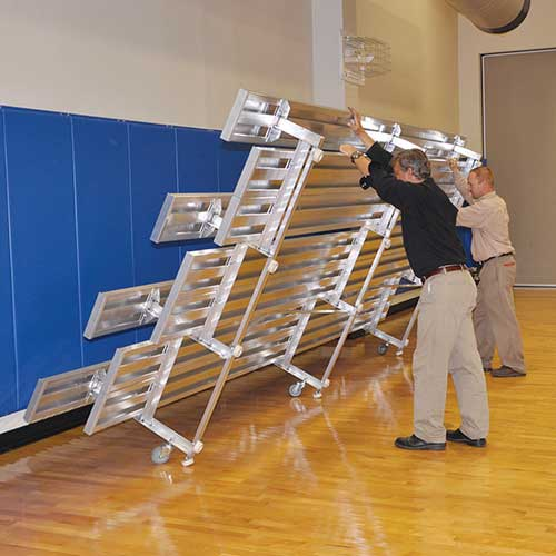 Indoor Aluminum Bleachers