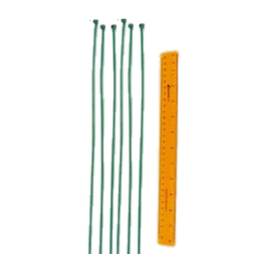 "Optional Safefoam Padding 19"" Ties Green"