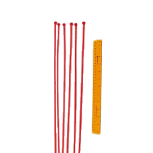 "Optional Safefoam Padding 19"" Ties Red"