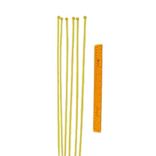 Safefoam Tubular Padding Ties (Yellow)