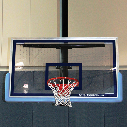 "Patented Perforated Polycarbonate Backboard 72""x42"""