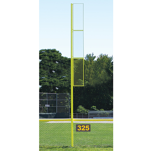 20' Collegiate Foul Pole (Baseball – Semi/Perm – Yellow)