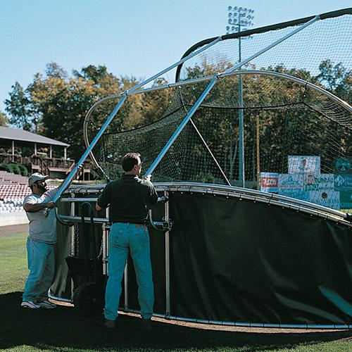 Portable Batting Cages Backyard: Grand Slam Baseball Batting Cage