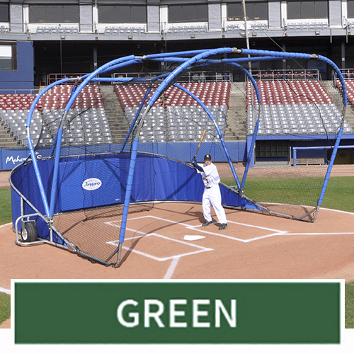 Big League Professional Batting Cage (Green)