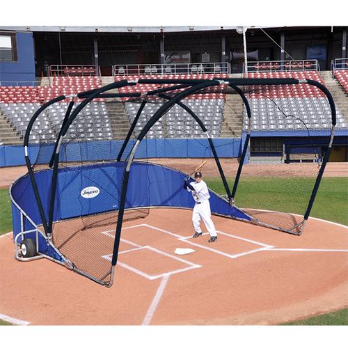 Big League Professional Batting Cage (Royal Blue)