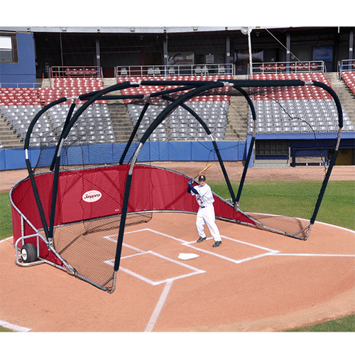 Big League Professional Batting Cage (Red)