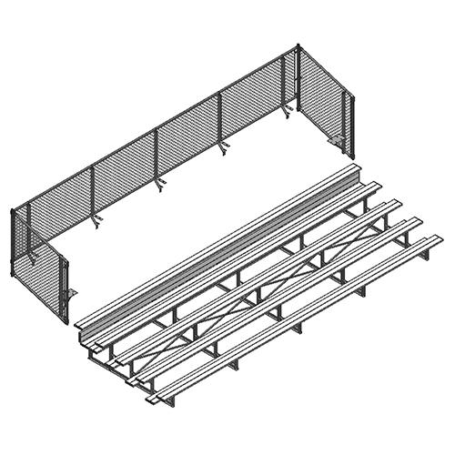 Universal Enclosure (5 Row – 27' Bleacher)