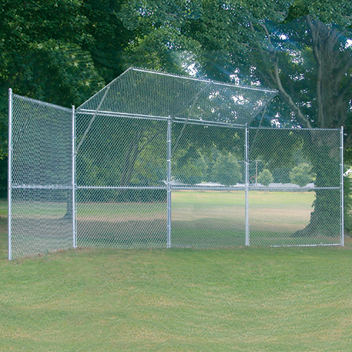 Permanent Baseball/Softball Backstop (4 Panel, 2 Center)