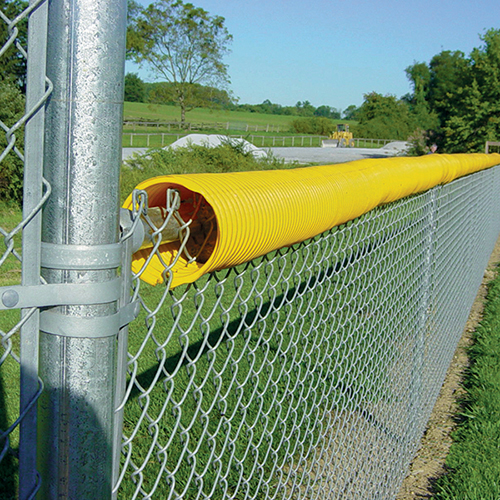 100' Fence Top Protection Crown (Yellow)