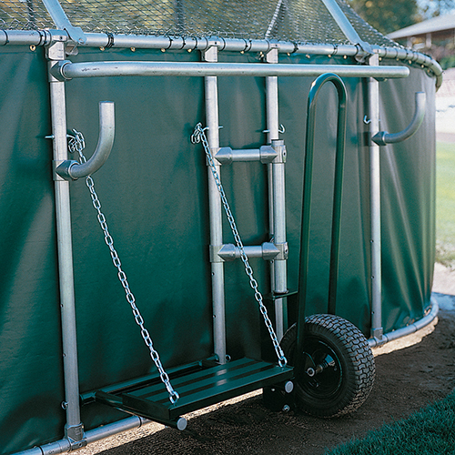 Batting Cage Viewing Stand