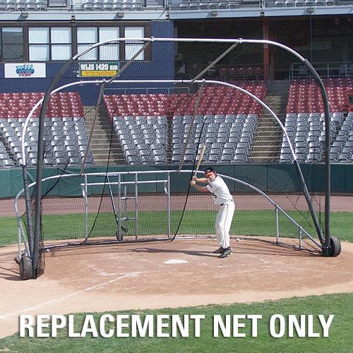 Portable Batting Cages Backyard: Little Slam Portable Batting Cage Net