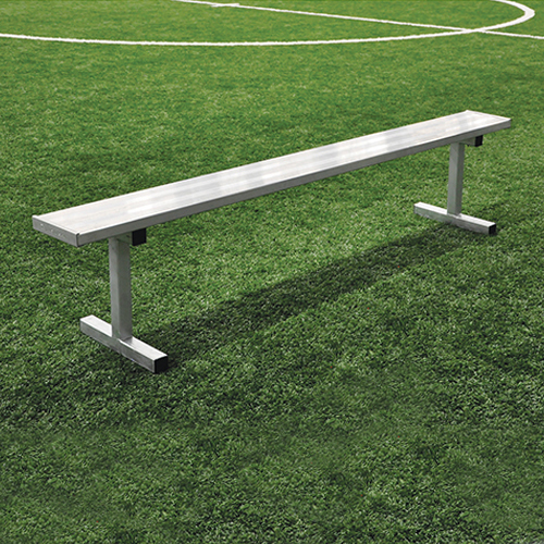 15 Player Bench W O Seat Back Portable Natural Finish