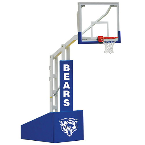 "Elite 5400 Portable System – w/ 54""x42"" Backboard"