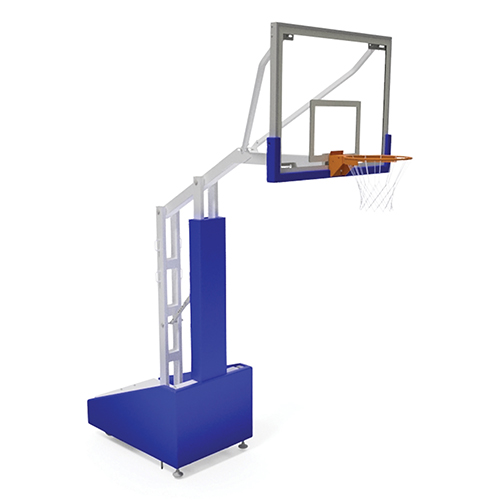 "Elite 5400 Portable System – w/ 72""x42"" Backboard"