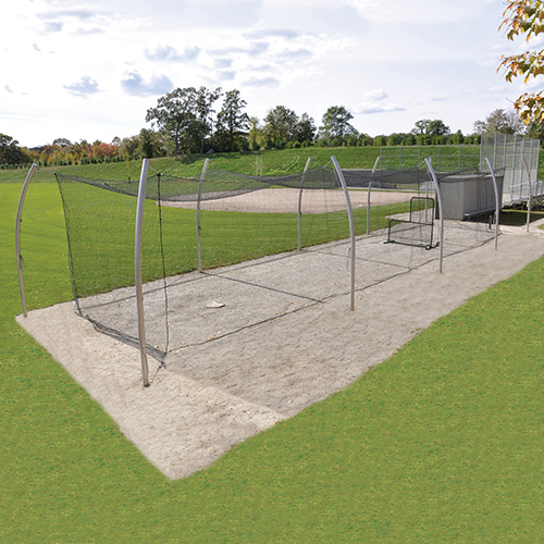 70' Professional Outdoor Batting Tunnel Frame
