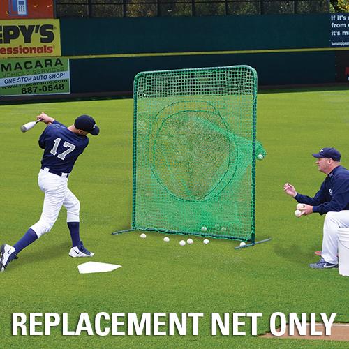 Portable Soft Toss/Batting Practice Screen Net