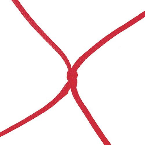 "4mm 5 1/2"" Sq Mesh Red Soccer Net 8×24"