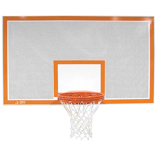 "42"" Rectangular Perforated Steel Backboard"