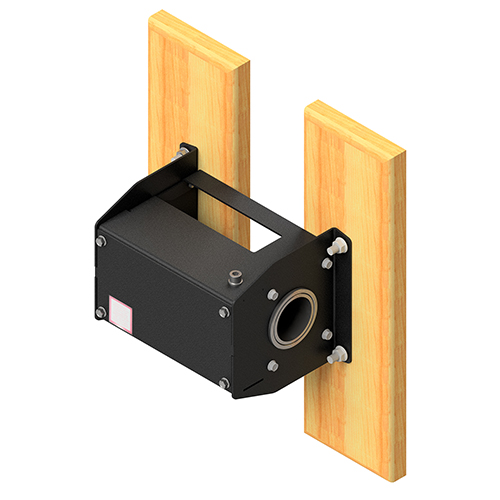 Manual Winch w/ Wall Mounting Kit