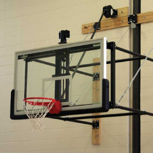 Basketball - Wall Mounted Backstops