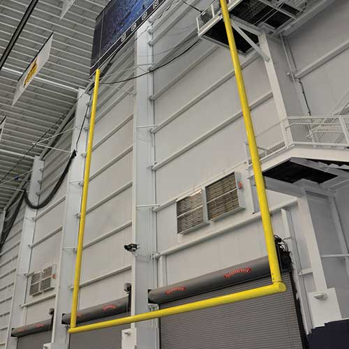 Ceiling Suspended Football Goal Post