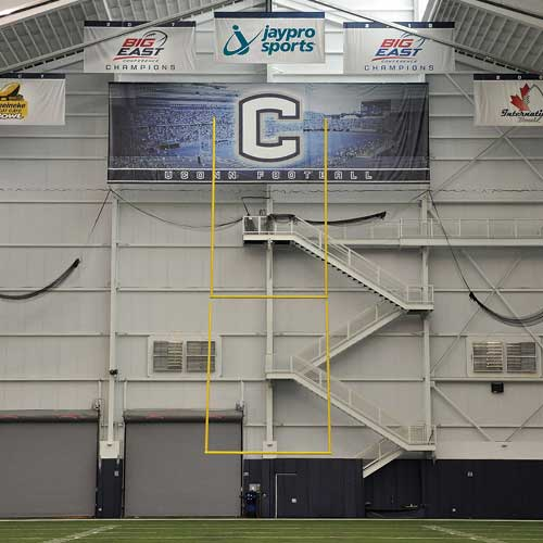 Retractable Ceiling Suspended Football Goal Post