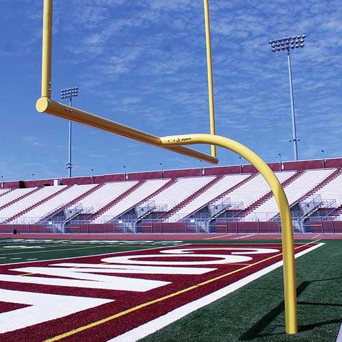 MAX-1™ Football Goal Post (Leveling Plate – 6'Ox30'U – High School)