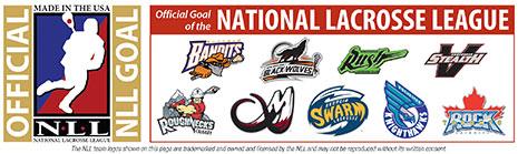 National Lacrosse League Box Lacrosse Goal