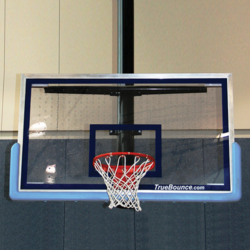 "Patented Perforated Polycarbonate Backboard 72""x48"""