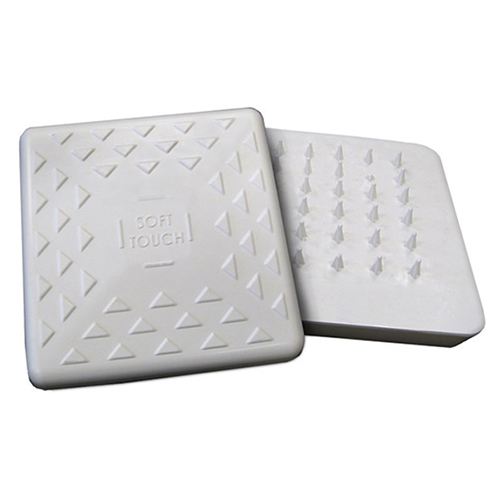Soft Touch Bases (White)