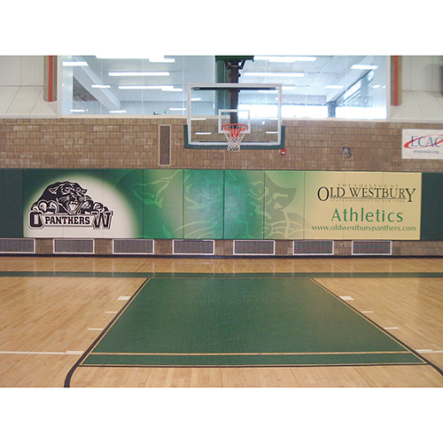 Gymnasium Wall Padding – Multi-Color Artwork