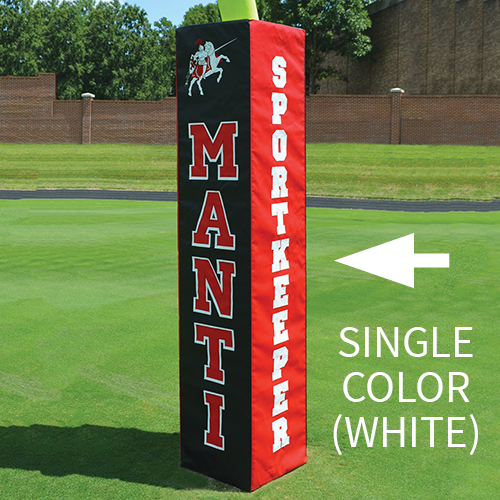 Rugby Goal Pad – White Lettering