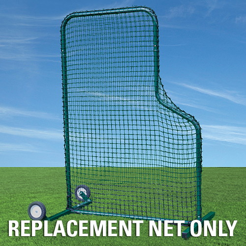 Short Sided Pitchers Screen Net