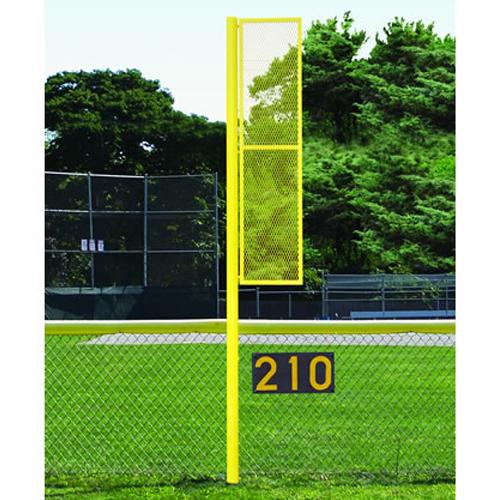 12' Softball Foul Pole (Semi/Perm – White)