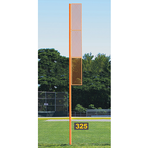 30' Collegiate Foul Pole (Softball – Semi/Perm – Orange)