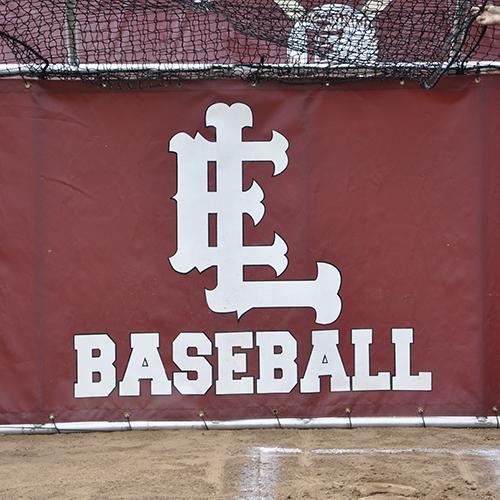 Batting Cage Skirt Logo
