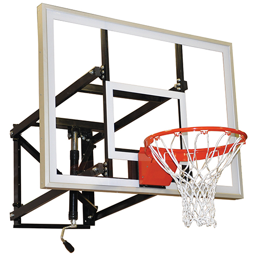 "Adjustable Wall Mount Shooting Station (54"" Glass Backboard)"