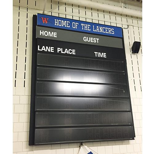 Indoor Swimming Scoreboard